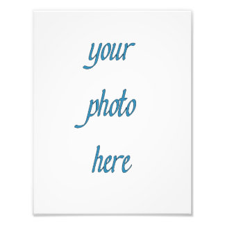 Custom Your Photo Here