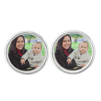 Custom your photo personalized cufflinks