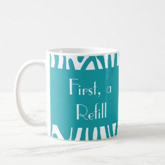 Custom Zebra Print Mug 04