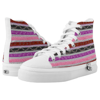 Custom Zipz High Top Shoes