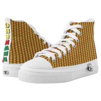 Custom Zipz High Top Shoes, UK: 3 / EUR: 35.5