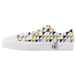 Custom Zipz Low Top Shoes for Man