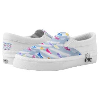 Custom Zipz Slip On Shoes