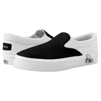 Custom Zipz Slip On Shoes