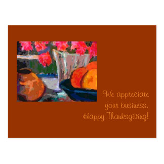 Customer appreciation Thanksgiving Card Postcard
