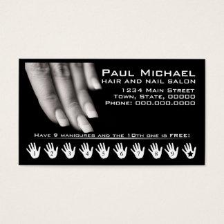 Customer Loyalty Cards | Nail Salon