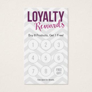 Customer Loyalty Rewards Business Cards