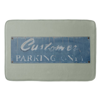 customer parking bath mat