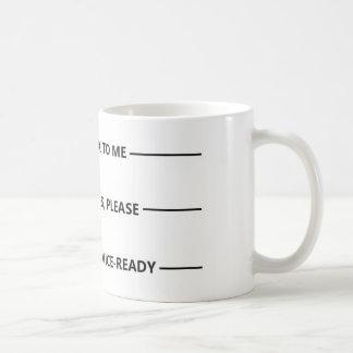 Customer Service Coffee Mug
