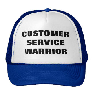 Customer service warrior hat