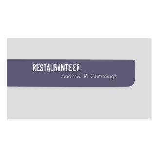 Customer Services Simplistic Masculine Business Card