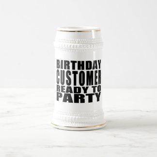 Customers Birthday Customer Ready to Party Mug