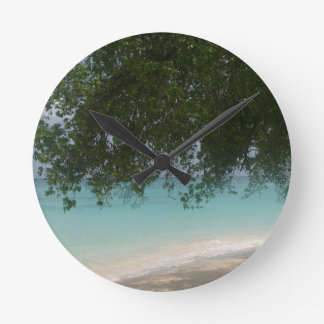 Customisable Barbados Beach Clock