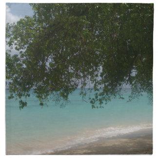 Customisable Barbados Beach Napkin