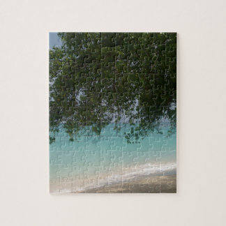 Customisable Barbados Beach Puzzle
