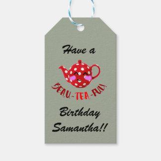 Customisable 'beau-tea-ful' gift tags