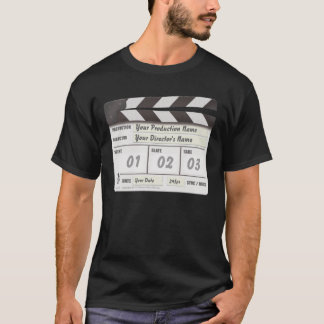 Customisable Clapperboard T-Shirt