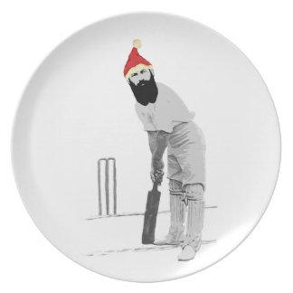 customisable cricket christmas gift ideas plate