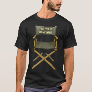 Customisable Director's Chair design T Shirts