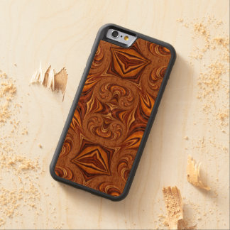 Customisable Iphone6 Wood Case Cherry iPhone 6 Bumper Case