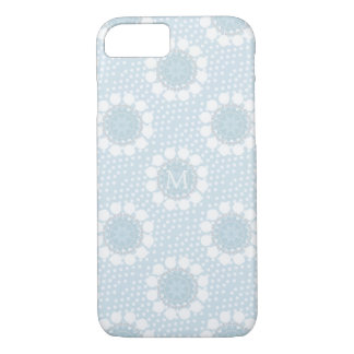 Customisable Monogram Blue iPhone7/ 8 Case