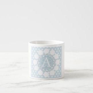 Customisable Monogram Circles Espresso Cup