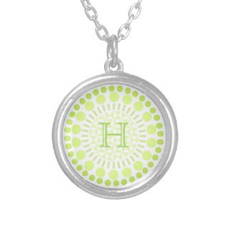 Customisable Monogram Circles Necklace