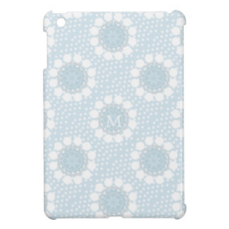 Customisable Monogram Polka Dot/Circles IPad Case