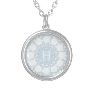 Customisable Monogram Polka Dot Necklace