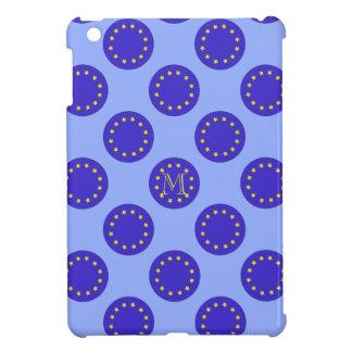 Customisable Monogram Polka EU/Brexit IPad Case