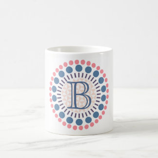 Customisable Monogrammed Circles Mug