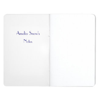 Customisable Paw-in-Hand Notebook Journals