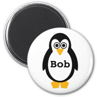 Customisable Penguin Party Magnet
