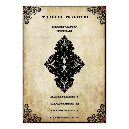 Customisable Playing Card Large Business Card