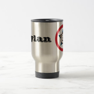 Customisable Super Monkey Travel / Commuter Mug