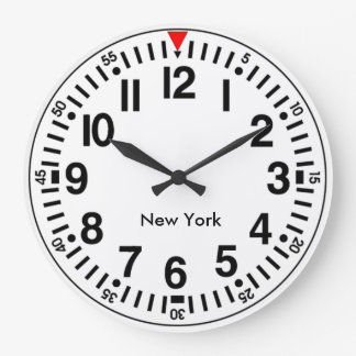Customisable Worldtime Large Clock