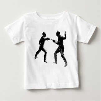 Customiseable Vintage fencing Gifts Baby T-Shirt