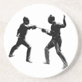 Customiseable Vintage fencing Gifts Coaster