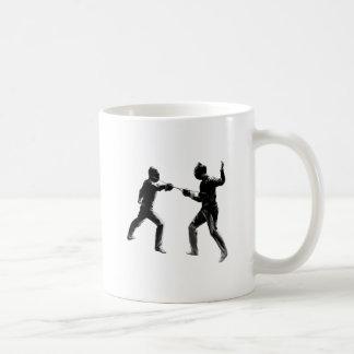 Customiseable Vintage fencing Gifts Coffee Mug