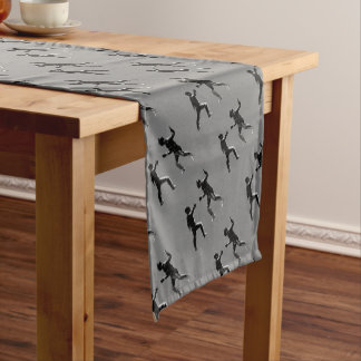 Customiseable Vintage fencing Gifts Short Table Runner