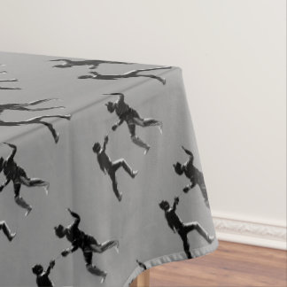 Customiseable Vintage fencing Gifts Tablecloth
