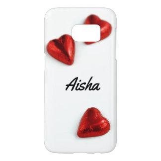 Customised Love Hearts Samsung Galaxy S7 Case