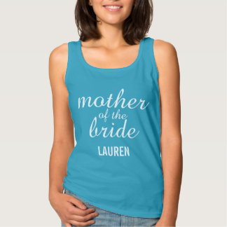 Customised Mother of the Bride Tank