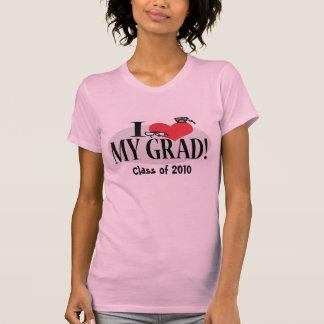 CustomizabIe Love My Grad Template T-Shirt