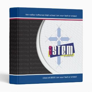 """Customizable 1"""" STEM Academy Binder"""