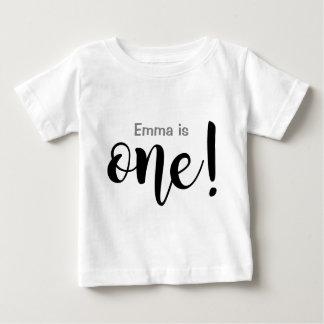 Customizable 1 Year Old Baby Girl T-shirt
