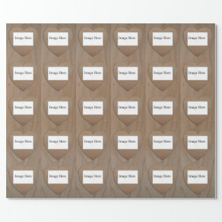 "Customizable 30 Photo, Wrapping Paper 30"" x 6'"