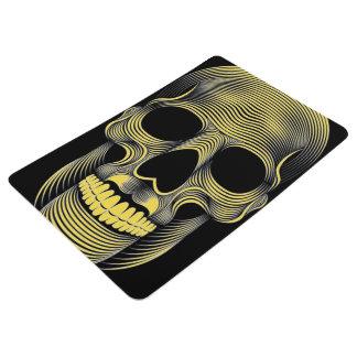 customizable 3D skull pop bath mat