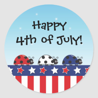 Customizable 4th of July Sticker