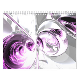 Customizable Abstract Art Calendar